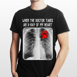 Paw dog When the doctor takes an X-ray of my heart sweater