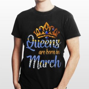 Queen are born in march sweater