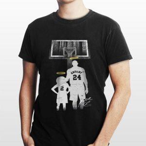 Rip Kobe Bryant And Daughter shirt