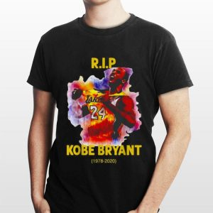 Rip Kobe Bryant Lakers 24 1978-2020 shirt