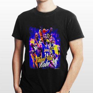 Rip Lakers thank you kobe shirt