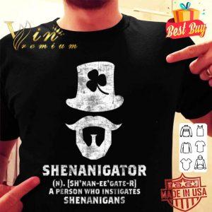 Shenanigator Funny St. Patricks Day shirt
