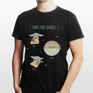 Star Wars The Mandalorian The Child Naps And Snacks shirt