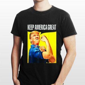 Strong Donald Trump Keep America shirt