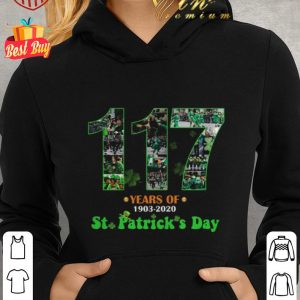 Top 117 Years Of 1903 2020 St. Patrick's Day shirt