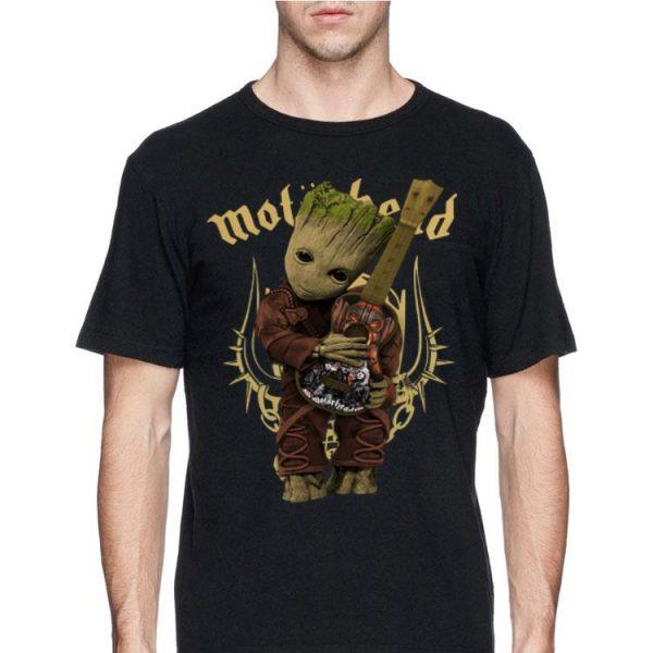 Baby Groot Hug Motor Head Guitar shirt