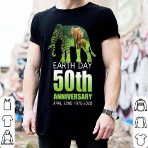 Elephant Earth Day 50 April 22nd 1970 2020 shirt