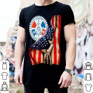 International Association Of Machinists & Aerospace Workers American Flag shirt