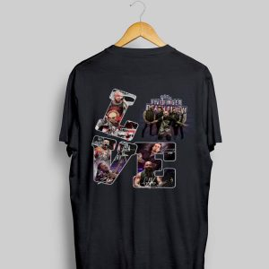 Love Finger Death Punch Signatures shirt