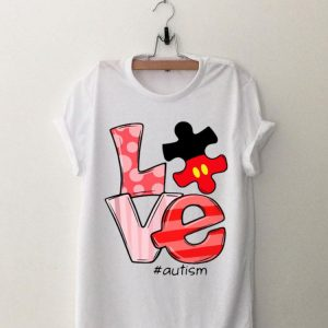 Mickey Mouse Love Autism shirt