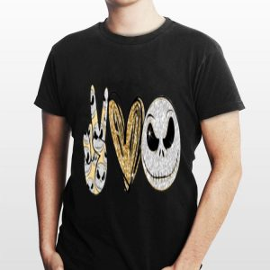 Peace Love Jack Skeleton shirt