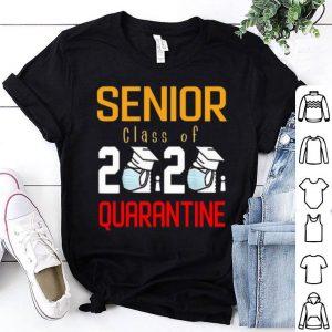 Senior Class Of 2020 Quarantine Graduation Classic shirt
