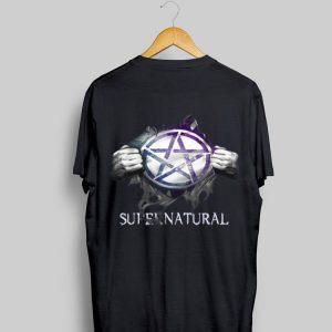 Supernatural Blood inside me shirt