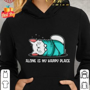 Top Cat sleep alone is my happy place shirt
