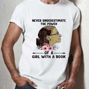Liberty Girl Never Underestimate The Power Of Girl With A Book shirt