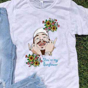 Post Malone You're My Sunflower shirt