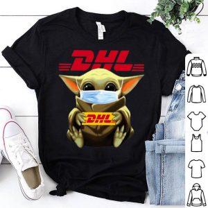 Star Wars Baby Yoda Mask Hug DHL Covid-19 shirt