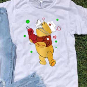 Winnie-the-Pooh Nurse Boxing Coronavirus shirt