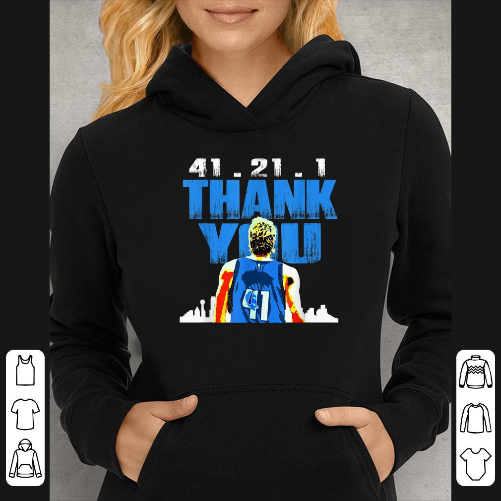 41 21 1 Thank You Retirement Basketball Art Fan shirt 4 - 41.21.1 Thank You Retirement Basketball Art Fan shirt