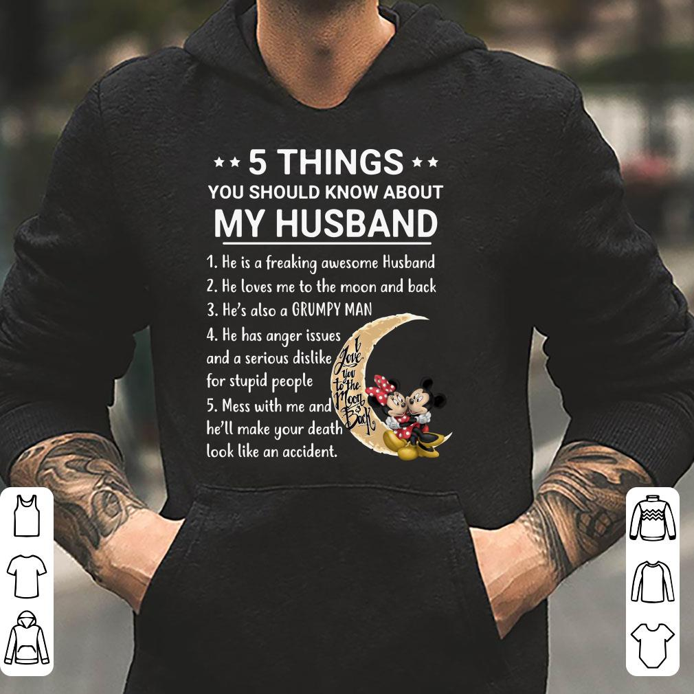 5 Things you should know about my husband mickey and minnie shirt 4 - 5 Things you should know about my husband mickey and minnie shirt