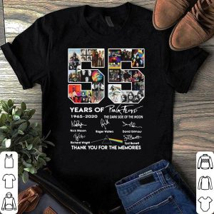 55 years of Pink Frop thank you for the memories shirt
