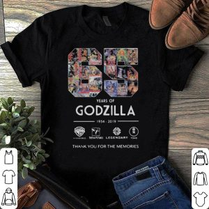 65 years of Godzilla thank you for the memories shirt