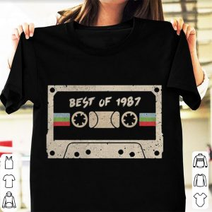 70s mix tape cassette best of 1987 shirt
