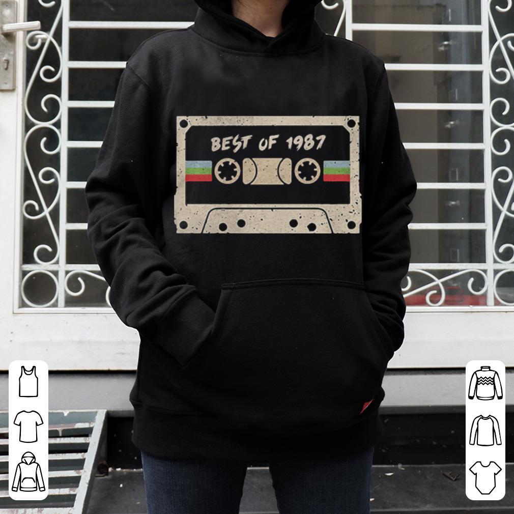 70s mix tape cassette best of 1987 shirt 4 - 70s mix tape cassette best of 1987 shirt
