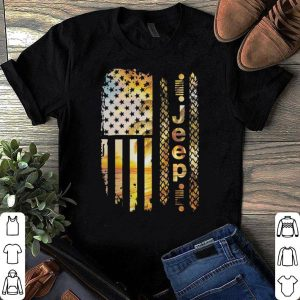 American Flag Jeep shirt