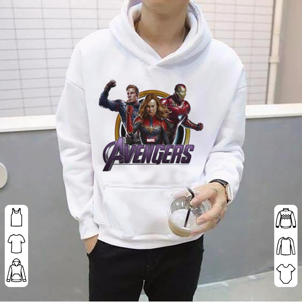 Avenger Endgame Captain Marvel Iron Man and Captain America shirt 4 - Avenger Endgame Captain Marvel Iron Man and Captain America shirt