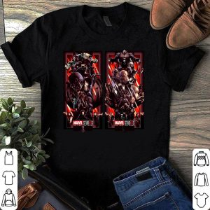 Avengers Endgame The Infinity Saga Heroes and Villains shirt