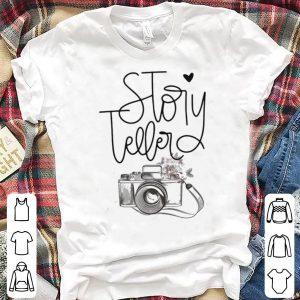Camera story teller shirt