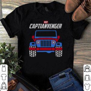 Captain America Marvel Avengers Endgame Jeep Captianvengers shirt