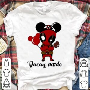 Deadpool Vacay Mode Marvel And Mickey Mouse Balloons shirt