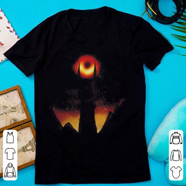 First photo of black hole sauron 2019 shirt