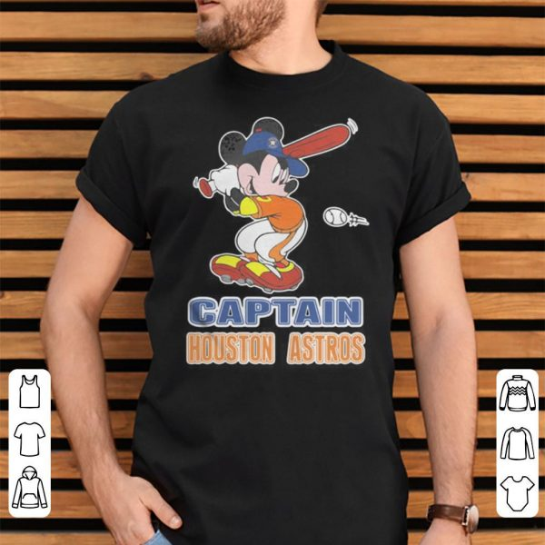 Mickey captain houston astros shirt