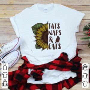 Sunflower – Tats Naps And Cats shirt