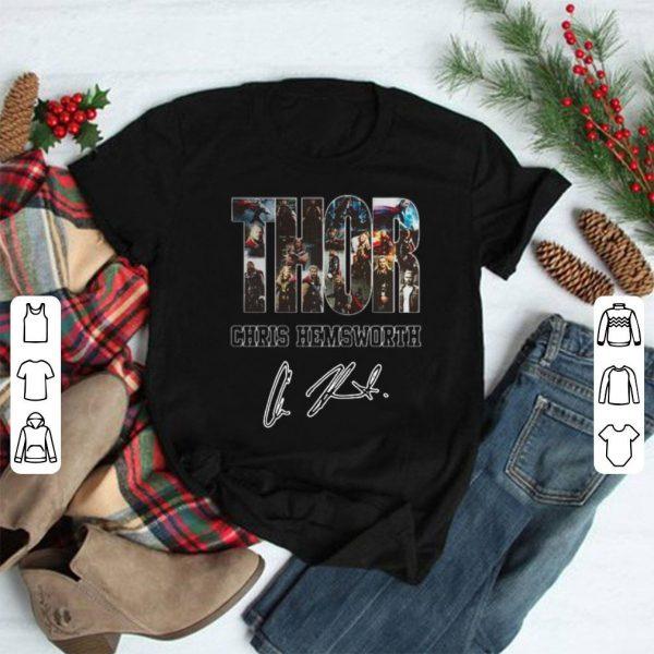 Thor Chris Hemsworth Signature shirt