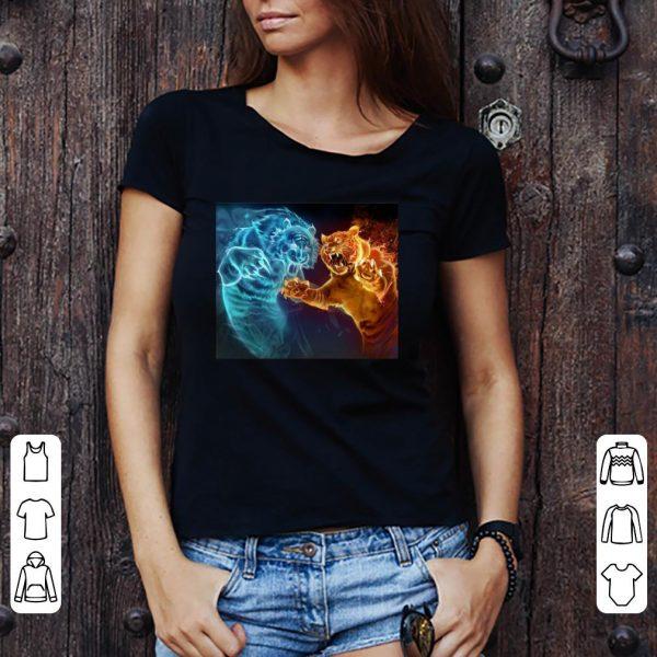 Tiger fighting shirt