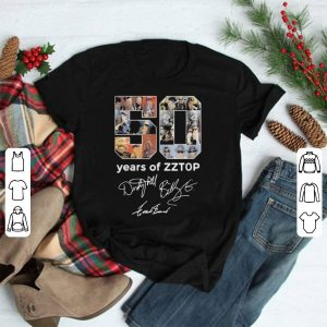 50 Years Of ZZTOP Signature shirt