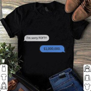50 cent Randall Emmett I'm sorry Fofty 1000000 shirt