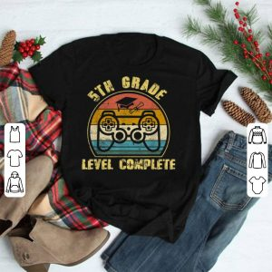 5Th Grade Level Complete Game Control shirt