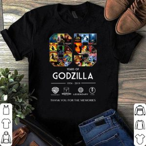 65th Years of Godzilla 1954-2019 shirt