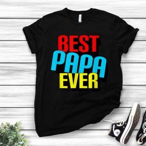Best Papa Ever Grandpa Fathers Day shirt