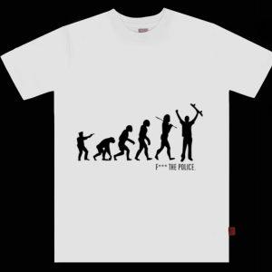 Fuck The Police Evolution shirt
