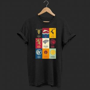 Game Of Throne Imagery And Famos Quotes shirt