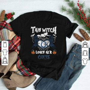 Indianapolis Colts This Witch Loves Her Colts Halloween shirt