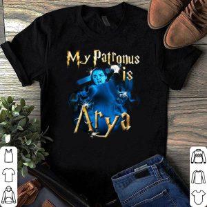 My Patronus is Arya shirt