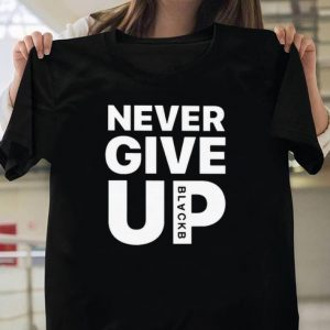 Salah never give up shirt