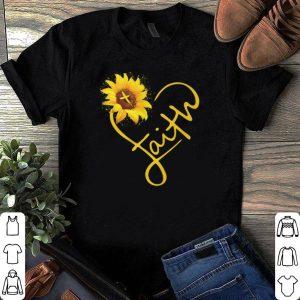 Sunflower faith shirt